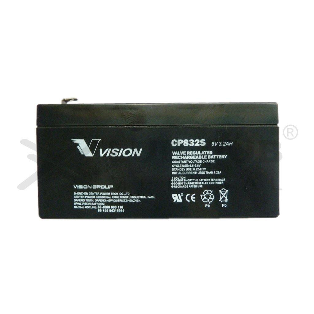 Battery 8v 3.2ah Top Terminal