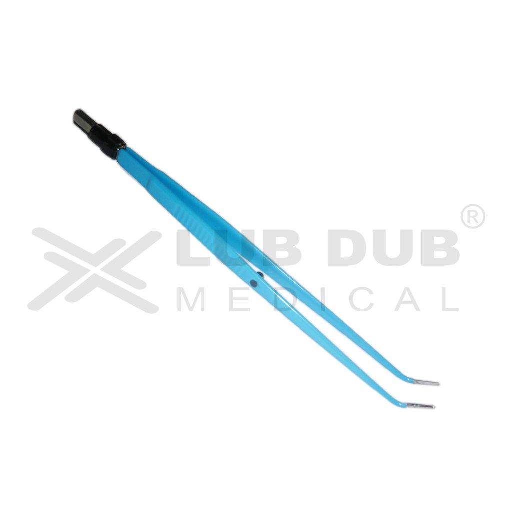 Bipolar Forceps Straight Angle 22cm 2.0mm Ger