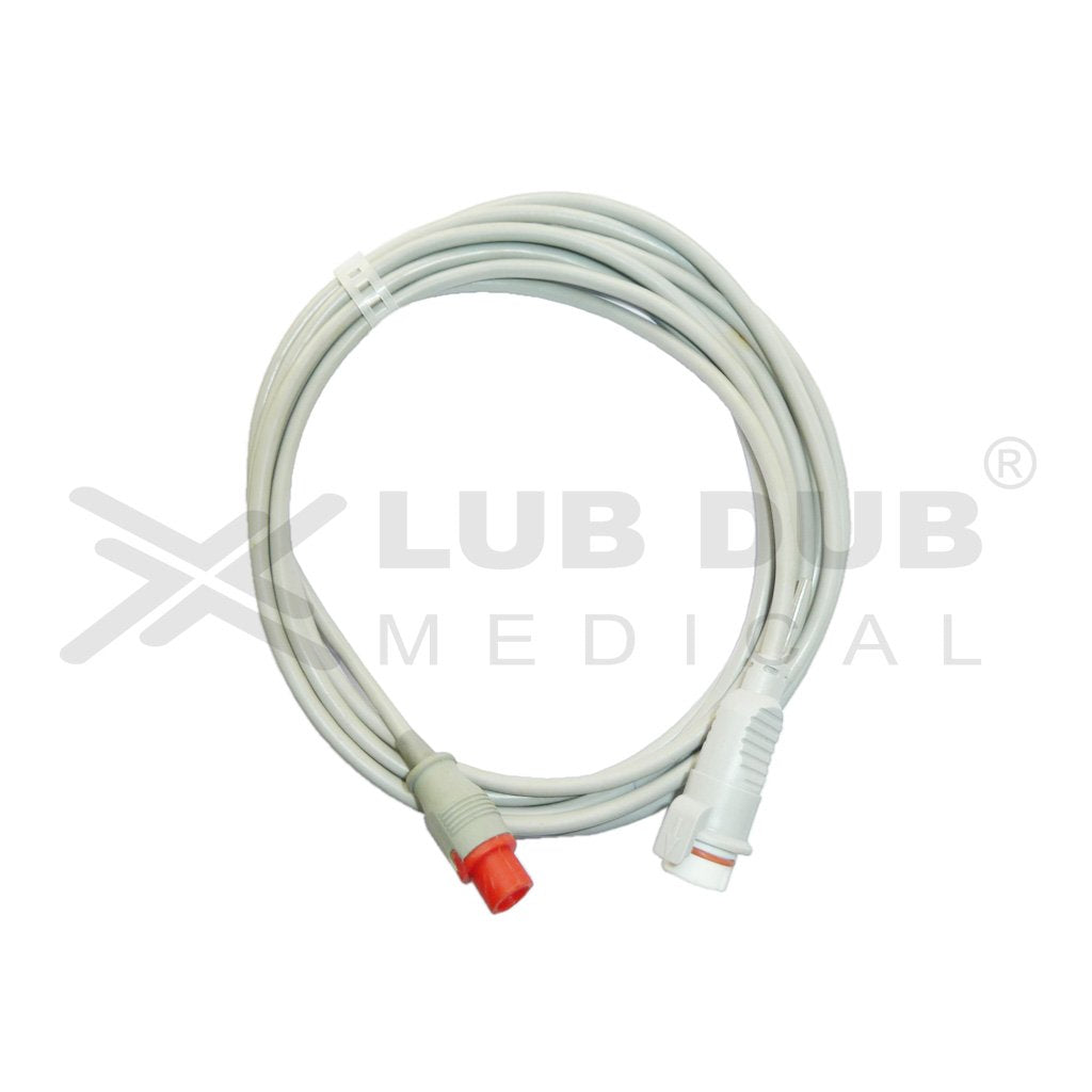IBP Transducer Cable-BD (Com) Compatible with Schiller Elite 4 Pin