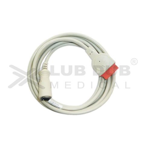 IBP Transducer Cable-Abbott Compatible with Datex ohmeda/Drager/GE 11 Pin