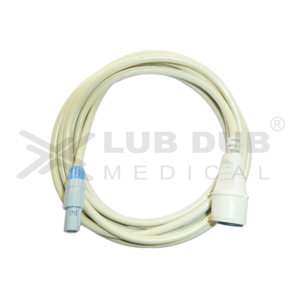 IBP Transducer Cable-Edward Compatible with Nihonkhoden 6 Pin Redal
