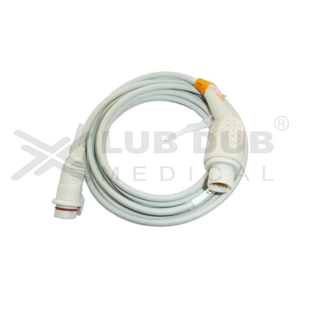 IBP Transducer Cable BD Compatible with Spacelab 6 Pin (T)