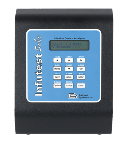 Infutest Solo Single Channel Infusion Device Analyzer