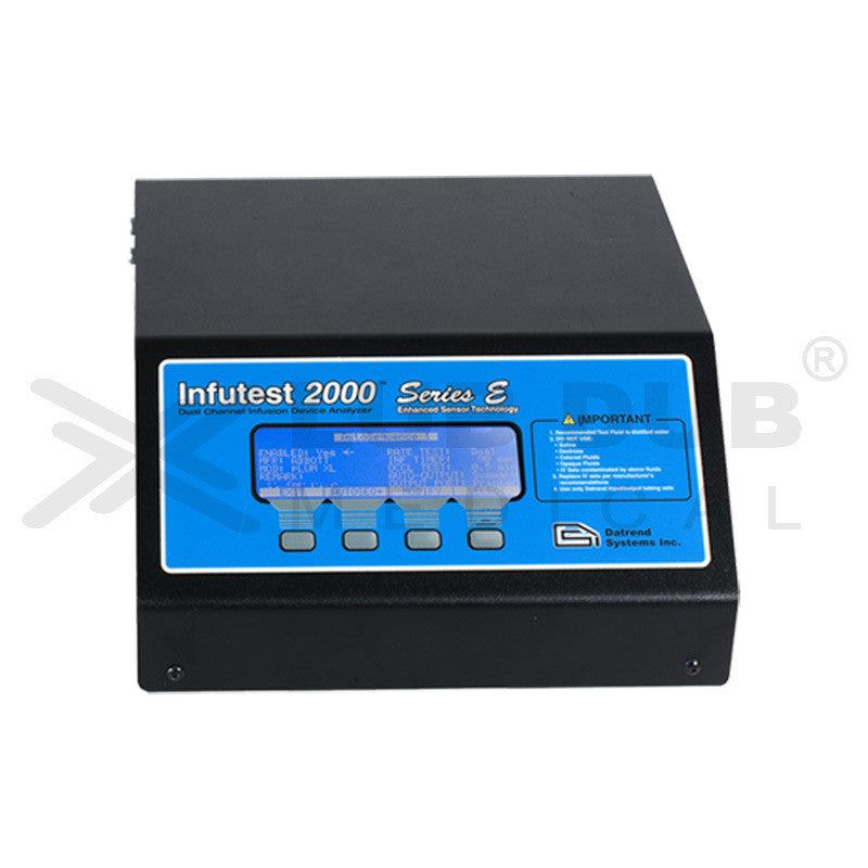 Infutest 2000 Series E Dual Channel Infusion Device Analyzer