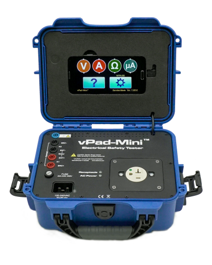 vPad – Mini Manual Electrical Safety Analyzer