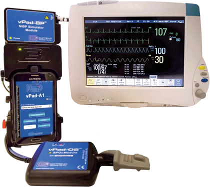 vPad A1 All-in-one Vital Signs Simulator