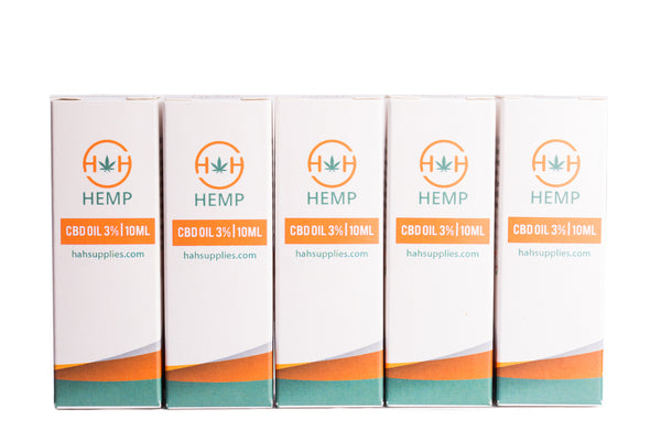 1500mg Multipack of H&H Hemp CBD Oil. Big Savings