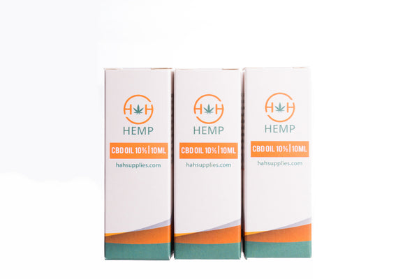 3000mg CBD Oil multipack by H&H Hemp.