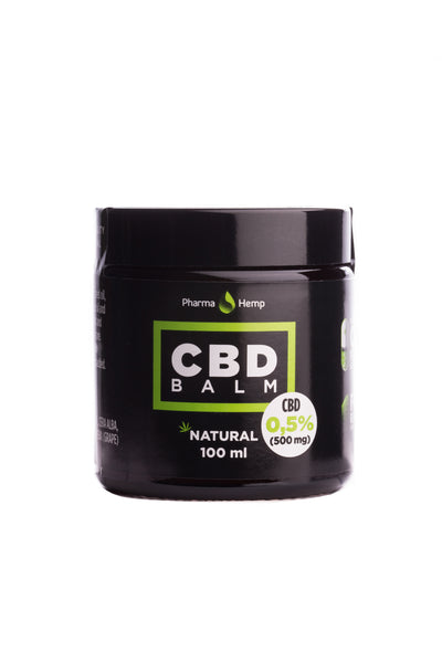 100ml 500mg CBD balm by PharmaHemp