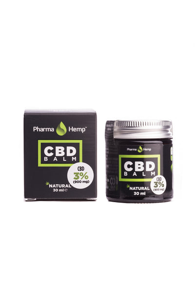 CBD Balm 900mg 30ml PharmaHemp