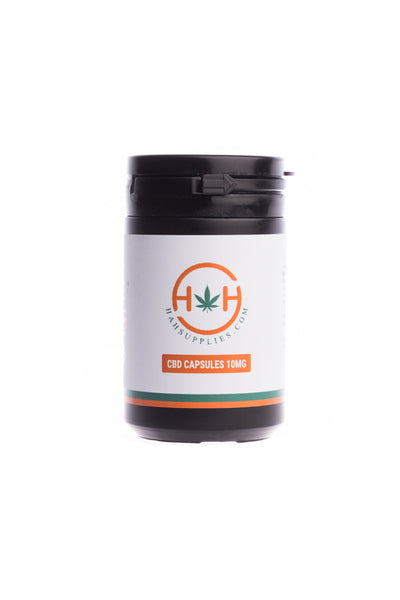 CBD Capsules 10mg by H&H Hemp (30)