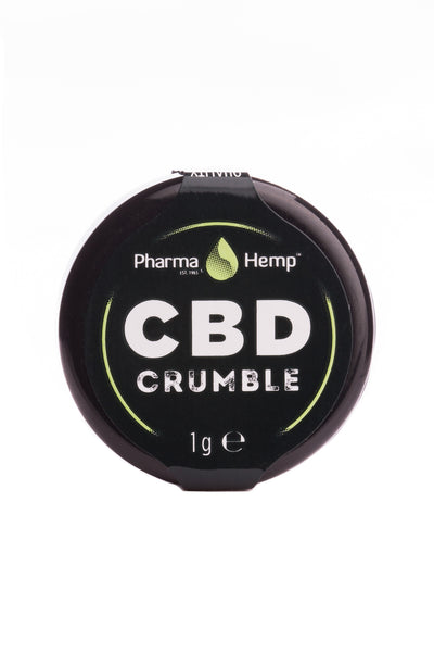1 gram CBD Crumble by PharmaHemp