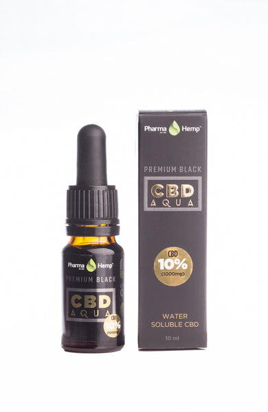10ml water soluble 1000mg CBD by PharmaHemp