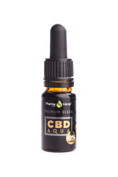10ml 1000mg CBD Oil (water soluble) by PharmaHemp