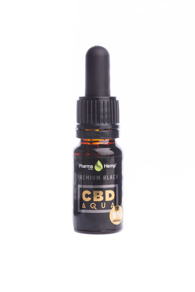 500mg Water soluble CBD Oil by PharmaHemp