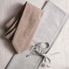 beige tie in cashmere made in italy cotton pini parma bag
