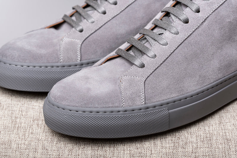 LUXURY GREY SNEAKERS - Made In Italy
