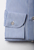 Blue Striped Shirt - Made in Italy