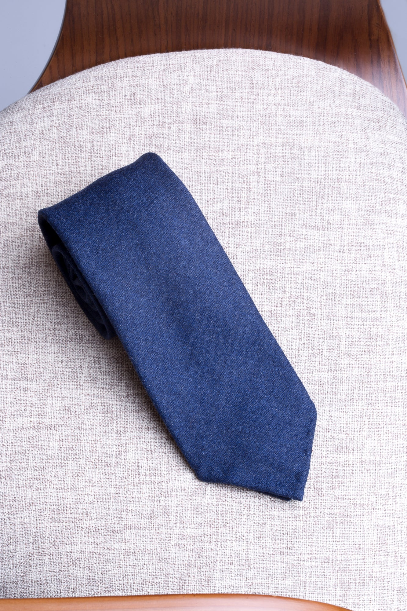 Avio flannel tie - Hand Made In Italy