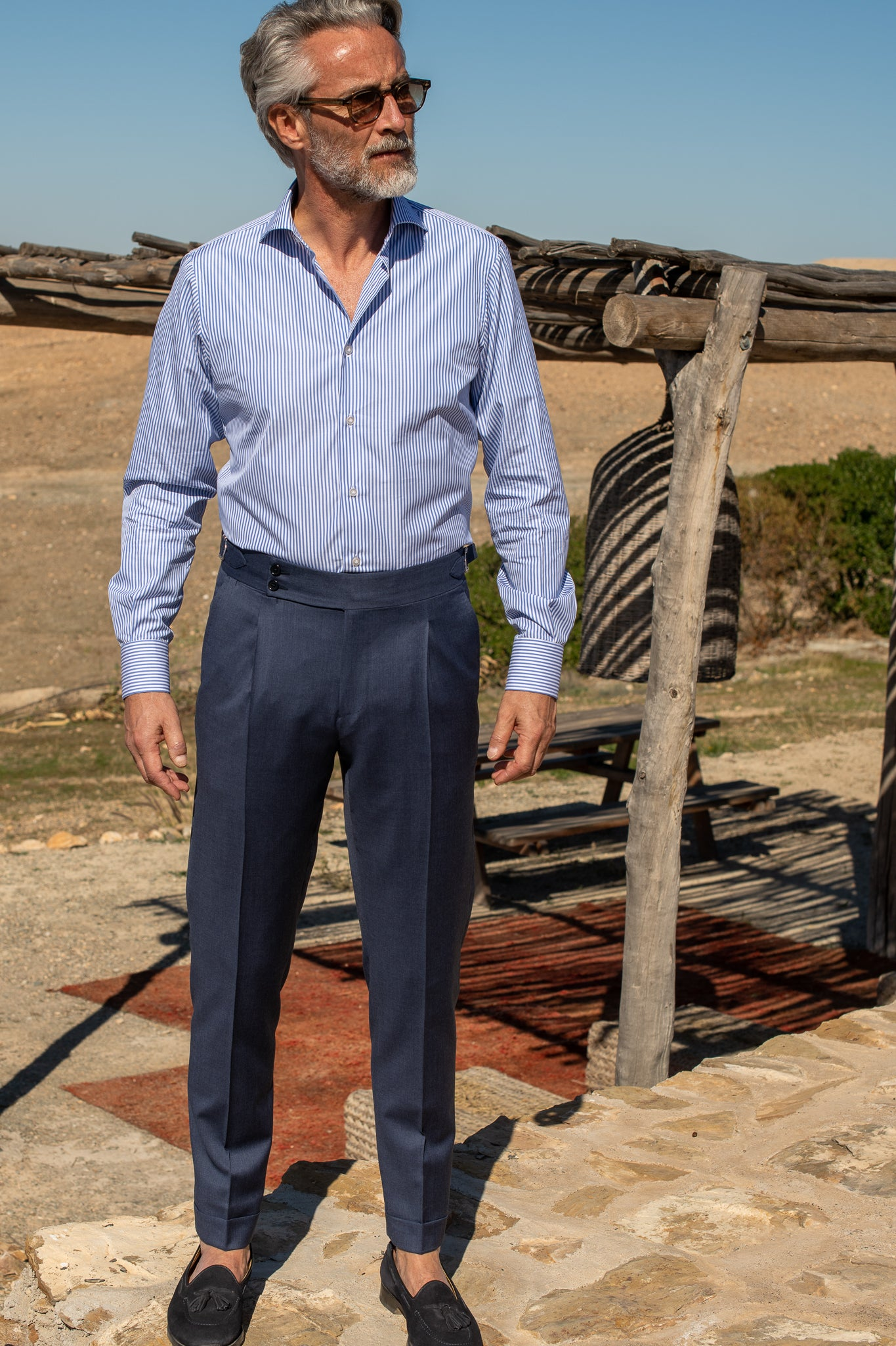 "Avio Trousers ""Soragna Capsule Collection"" - Made in Italy"
