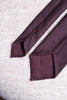 Bordeaux flannel tie - Hand Made In Italy