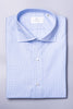 Houndstooth Light Blue Shirt - Made in Italy
