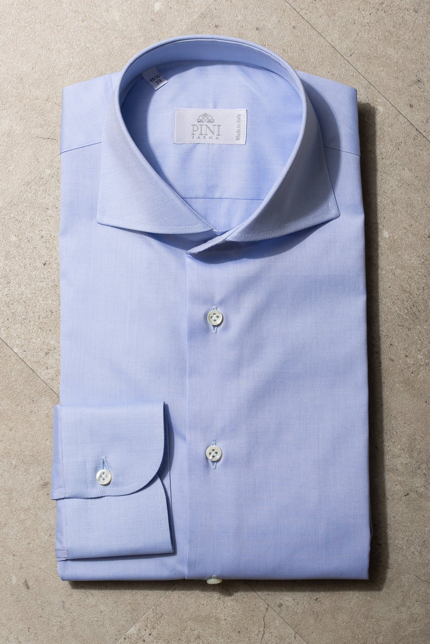 "Light blue shirt ""Sartoriale collection"" - Made In Italy"