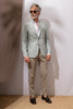 Beige Biella trousers - Made in Italy