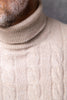 BEIGE TURTLENECK – Made in italy