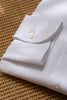 White linen shirt - Made in Italy