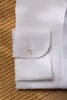 White linen popover shirt - Made in Italy