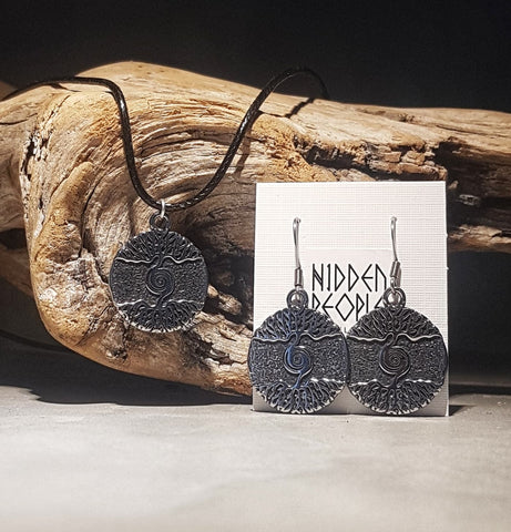 Yggdrasil Pendant/Earrings