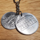 Restored Icelandic Vintage Coin Gifts ....Keyrings/Earrings