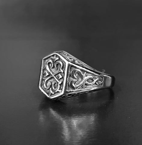 Stainless Steel Viking Knot Ring