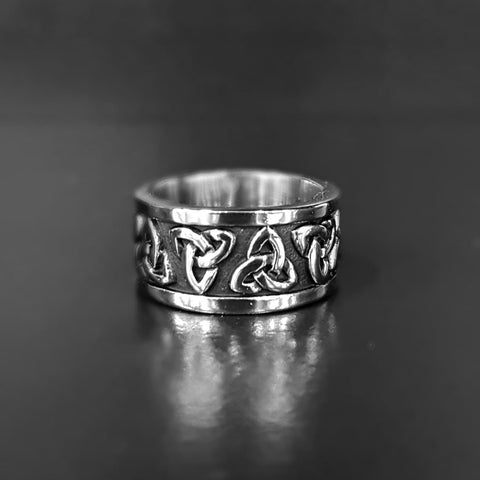 Stainless Steel Holy Trinity Rings