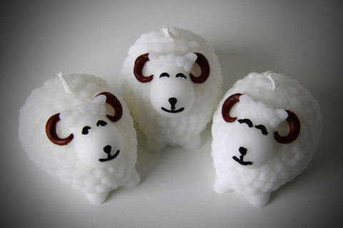 Icelandic Sheep Candle
