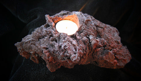 Lava Tealight Holder