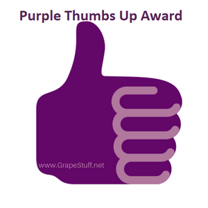 Purple Thumbs Up/Down Awards