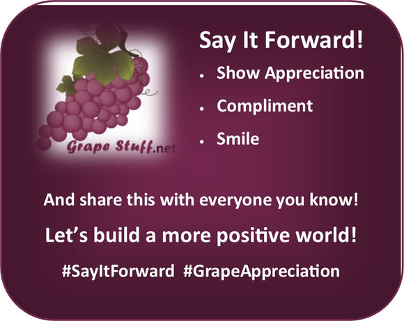 Say It Forward / Compliment Day