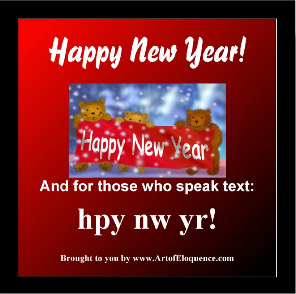Happy New Yr Txt