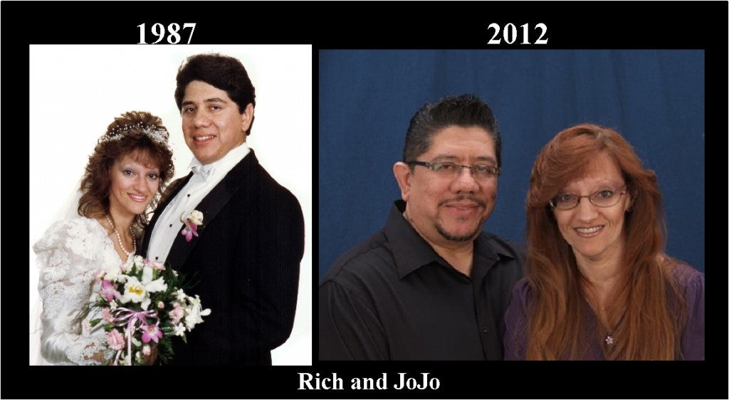 RIch and JoJo 25yrs