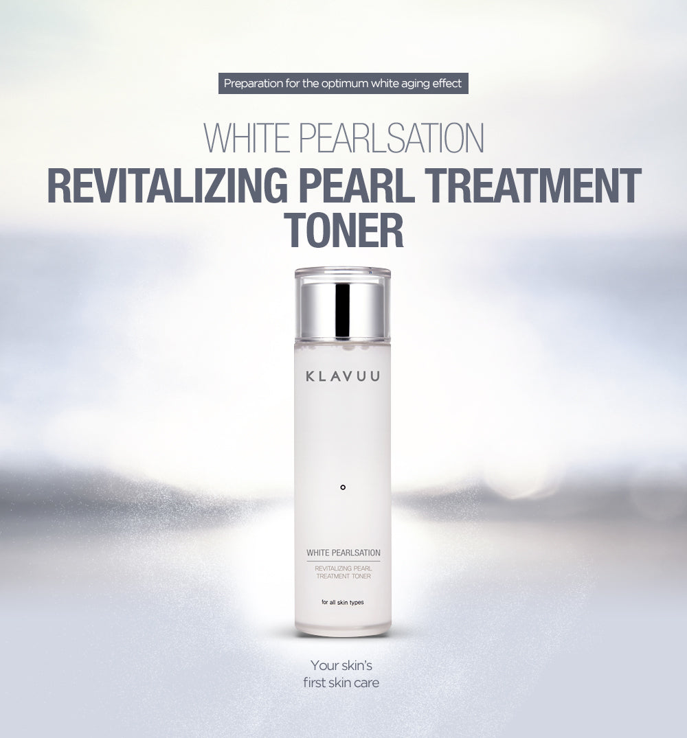 This multi toner instantly takes care of whitening and anti-aging as soon as it is applied. It removes the dried skin right away and soothes your skin right away. It is the best skin care boosting product that gets quickly absorbed by the skin and allows your next skincare products to get absorbed quickly as well. Start your skincare routine with the Revitalizing Peal Treatment Toner and feel the difference.Standout ingredients include: Pearl Extract, Mineral Water, Pyrus Malus (Apple) Fruit Water, Enteromorpha Compressa Extract, and Chlorella Vulgaris Extract. Directions: After cleansing dispense several drops of the Revitalizing Treatment Toner and apply to face using patting motions. This will keep the moisture and energy in your skin for a long time. Water,Glycerin, Butylene Glycol, Niacinamide,Pentylene Glycol, 1,2-Hexanediol, Biphenyl Dimethicone, Propanediol, Dipropylene Glycol, Phenoxyethanol, PEG-60 Hydrogenated Castor Oil, Triethylhexanoin, Xanthin Gum, Dimethicone, Pyrus Malus (Apple) Fruit Water, Octyldodeceth-16, Hydrogenated Lecithin, Adenosine, Lecithin, Fragrance(Parfum), Pearl Extract, Codium Tomentosum Extract, Ecklonia Cava Extract, Enteromorpha Compressa Extract, Macrocystis Pyrifera (Kelp) Extract, Gelidium Cartilaginous Extract, Laminaria Japonica Extract, Sea Whip Extract, Polyglutamic Acid, Sodium Hyaluronate, Chlorella Vulgaris Extract, Spirulina Platensis Extract, Caprylyl Glycol