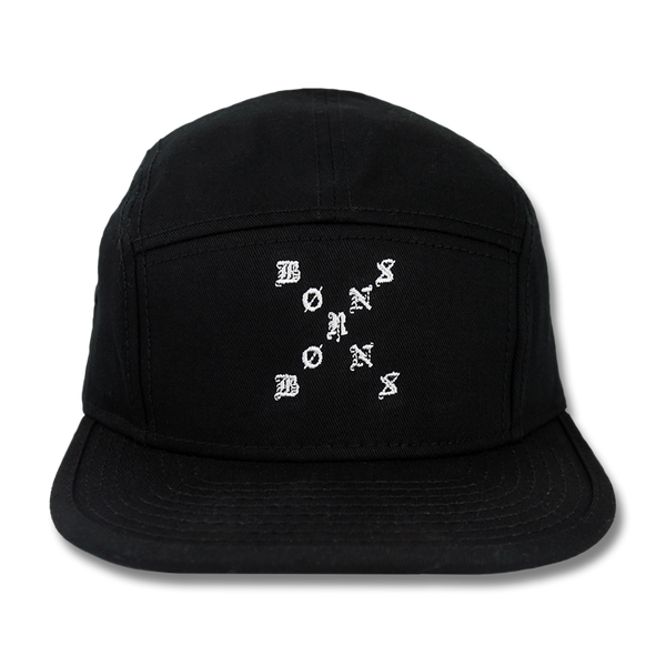 X Logo Five Panel Camper Hat