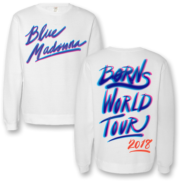 Airbrush Crew Neck Sweatshirt