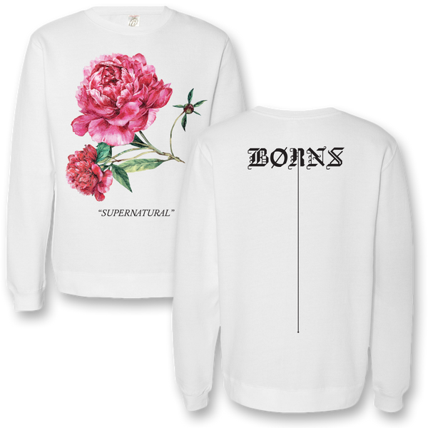 Supernatural Rose Crewneck Sweatshirt