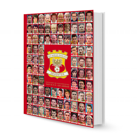 Go Ahead Eagles Jubileumboek - PRE-ORDER