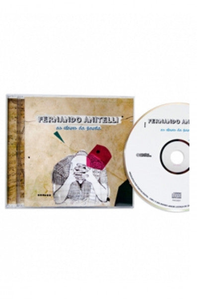 "CD Fernando Anitelli ""As Claves da Gaveta"" - Lojinha O Teatro Mágico"