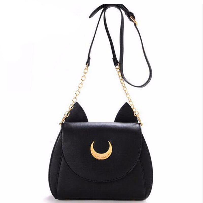 CAT EARS CROSS BODY SHOULDER BAG - ZUNARIS