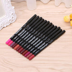 12 PCS/LIP LINER COLORS, LIP PENCILS