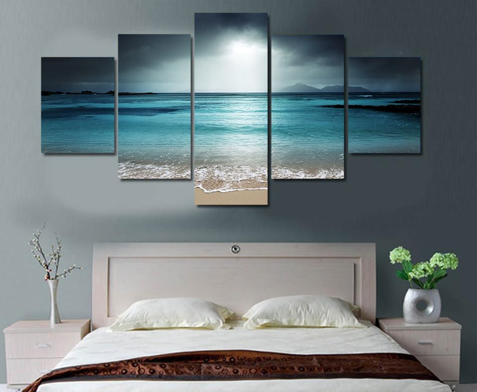Limited Edition 5 Piece Ocean Canvas - ZUNARIS